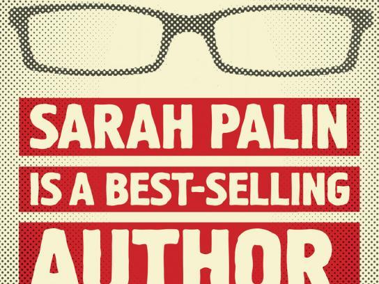 Newstalk 1010 Print Ad -  Palin
