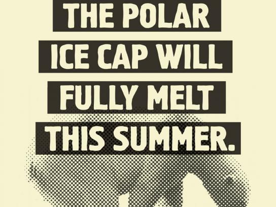 Newstalk 1010 Print Ad -  Polar cap