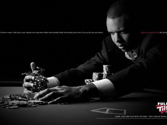 Full Tilt Poker Print Ad -  Play like Ivey