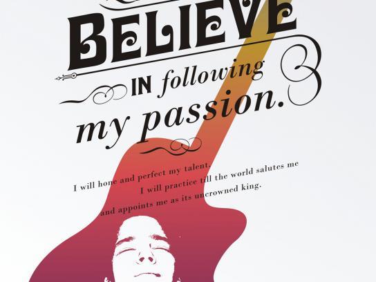 Presidium Print Ad -  I believe in following my passion