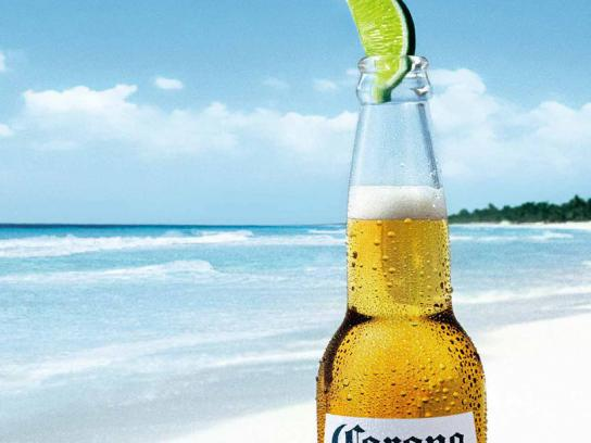 Corona Beer Outdoor Ad -  Win some