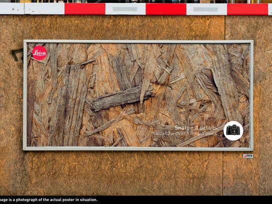 Leica Outdoor Ad -  Sharpest Details, Wood