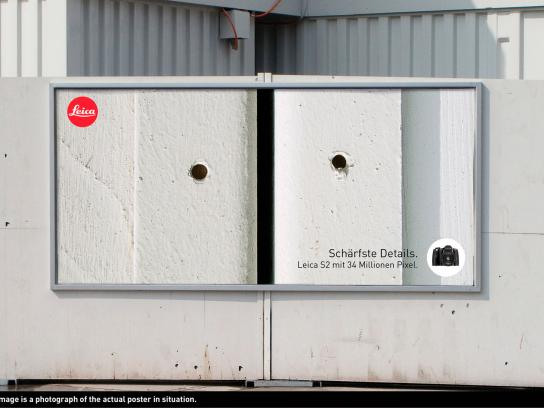 Leica Outdoor Ad -  Sharpest Details, Concrete