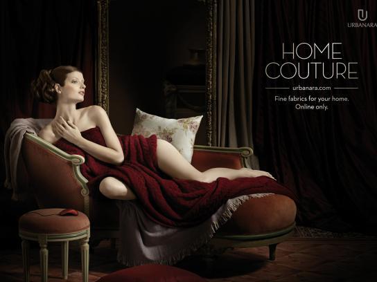 Urbanara Print Ad -  Home couture, 1