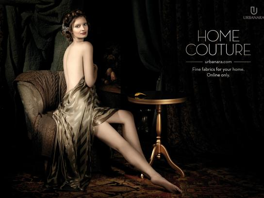 Urbanara Print Ad -  Home couture, 2