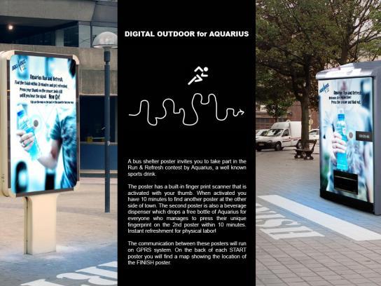 Aquarius Ambient Ad -  Run & Refresh