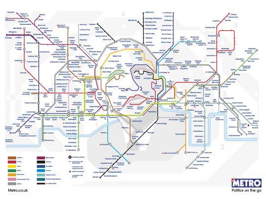 Metro Print Ad -  Obama