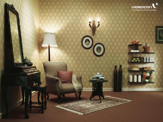 Videocon Print Ad -  Shelves, 2