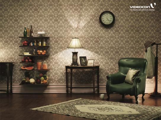 Videocon Print Ad -  Shelves, 3