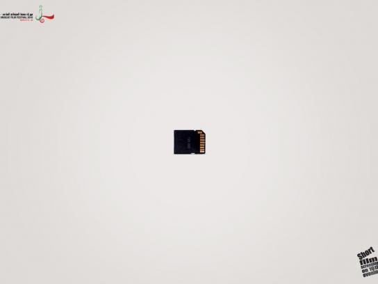 Muscat Film Festival Print Ad -  Chip
