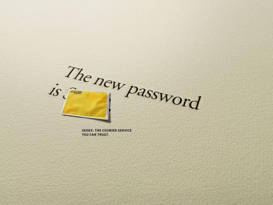 Sedex Print Ad -  Password