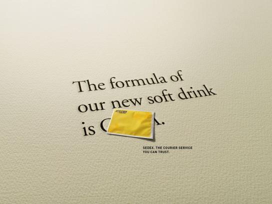 Sedex Print Ad -  Formula