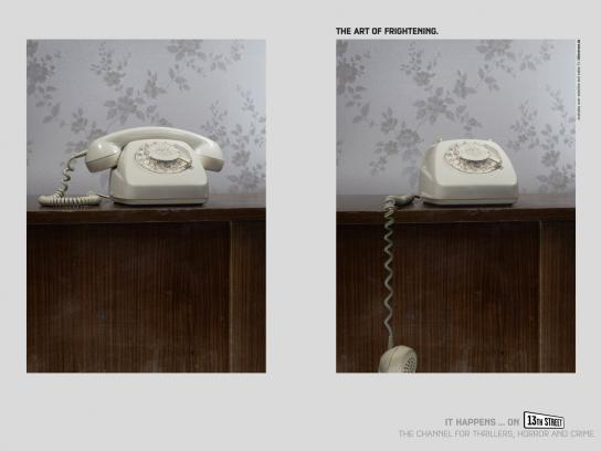 13th Street Print Ad -  Phone