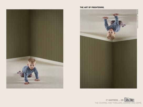 13th Street Print Ad -  Kid