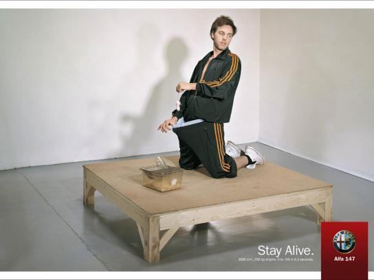 Alfa Romeo Print Ad -  Stay Alive, 5