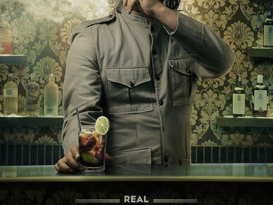 Lolita Pub Print Ad -  Drinks, Real Cuba Libres