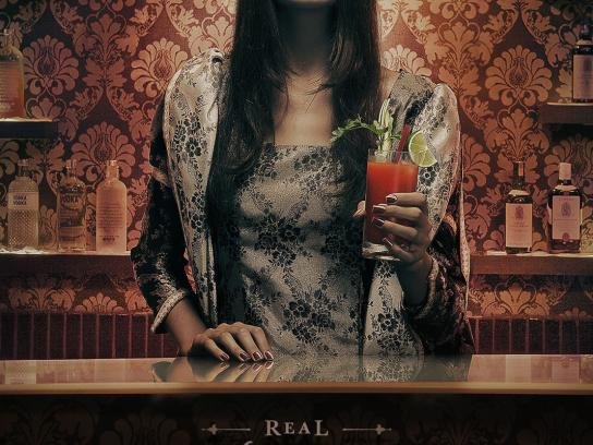 Lolita Pub Print Ad -  Drinks, Real Bloody Marys