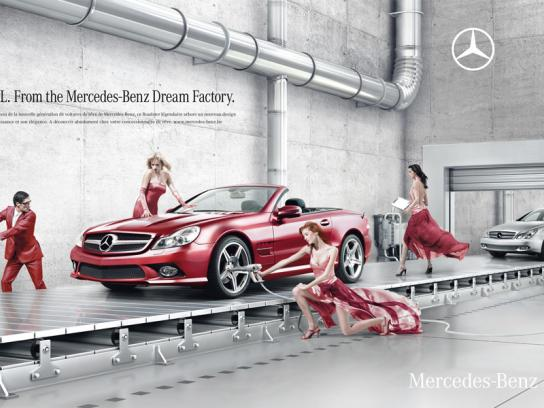 Mercedes Print Ad -  Dream Factory, 1