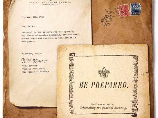 Boy Scouts Print Ad -  Prepared