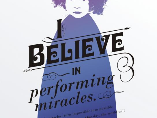 Presidium Print Ad -  I believe in performing miracles