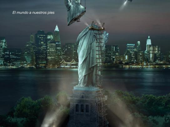 Cepsa Print Ad -  New York