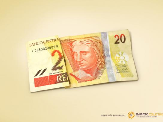 Barato Coletivo Print Ad -  20 reais
