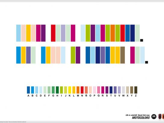 Motocolors, 1