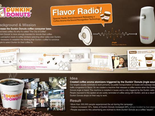 Dunkin' Donuts Audio Ad -  Flavor Radio