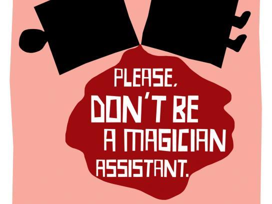 Santa Casa Print Ad -  Magician