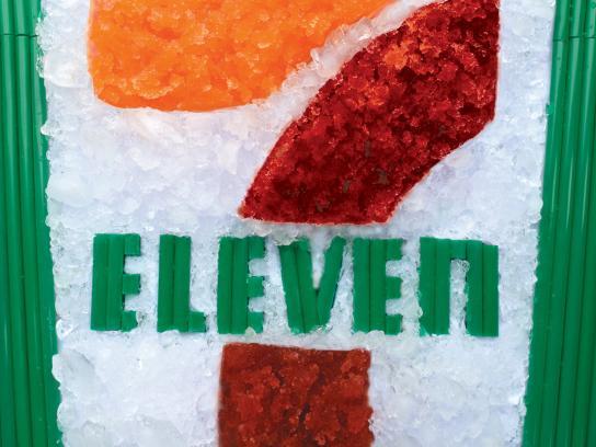 7 Eleven Outdoor Ad -  Slurpee