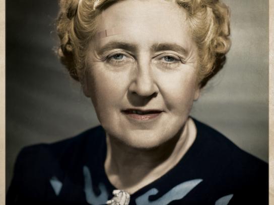 Avelar Machado Print Ad -  Agatha Christie