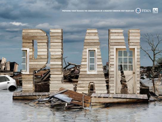 FEMA Print Ad -  Flood