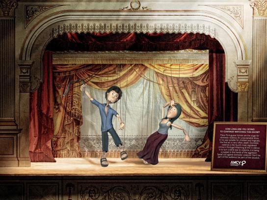 AMCV Print Ad -  Marionetas