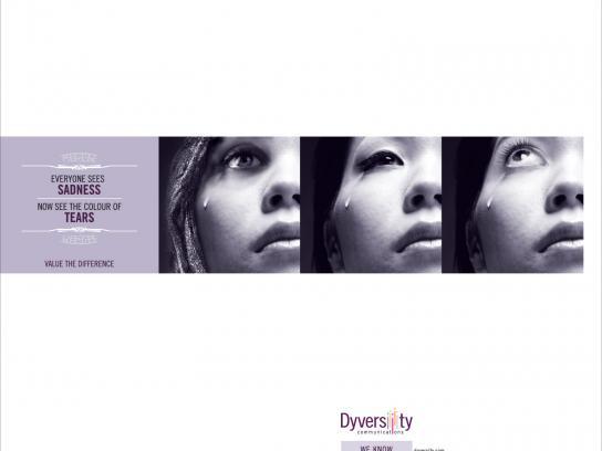 Dyversity Print Ad -  Tears