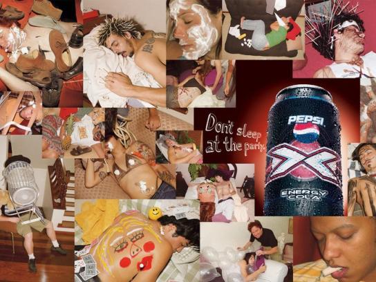 Pepsi Print Ad -  Party, 2
