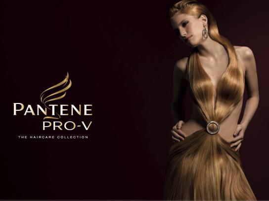 Pantene Print Ad -  Redhead