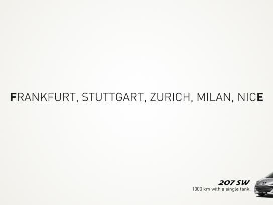 Peugeot Print Ad -  1