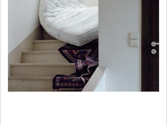 Dunlopillo Print Ad -  Stairs