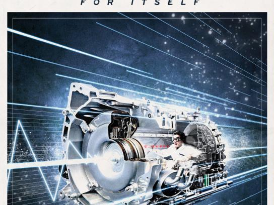 Mazda Print Ad -  Skyactiv Revolution, Transmission