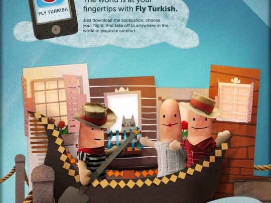 Turkish Airlines Print Ad -  Venice
