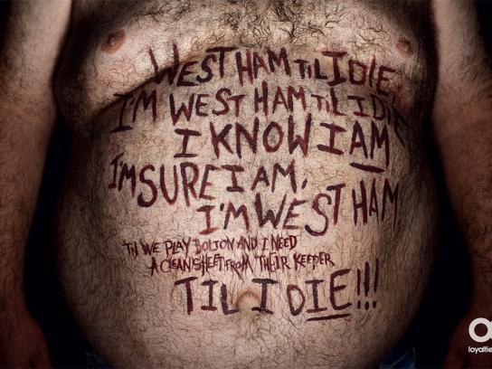 Fantasy League Print Ad -  West Ham