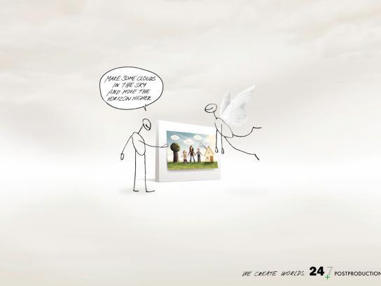 24/7 Print Ad -  Clouds