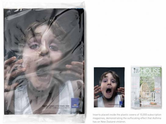 Asthma Foundation Ambient Ad -  Suffocation