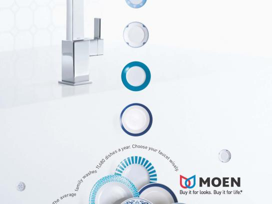 Moen Print Ad -  Kitchen