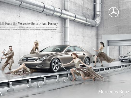 Mercedes Print Ad -  Dream Factory, 2