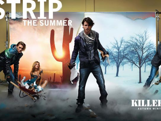 Killer Jeans Print Ad -  Strip, 2
