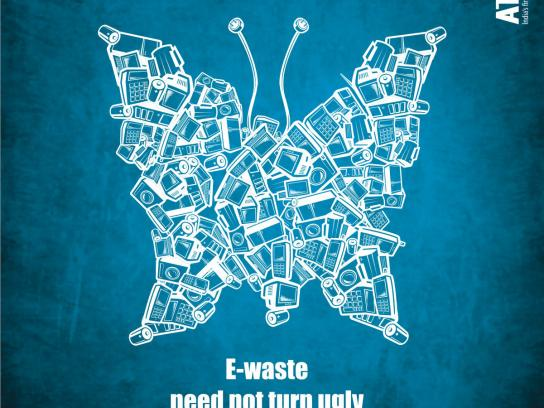 Attero Print Ad -  E-waste need not turn ugly
