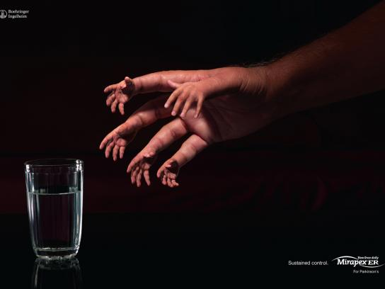 Micardis Print Ad -  Hands