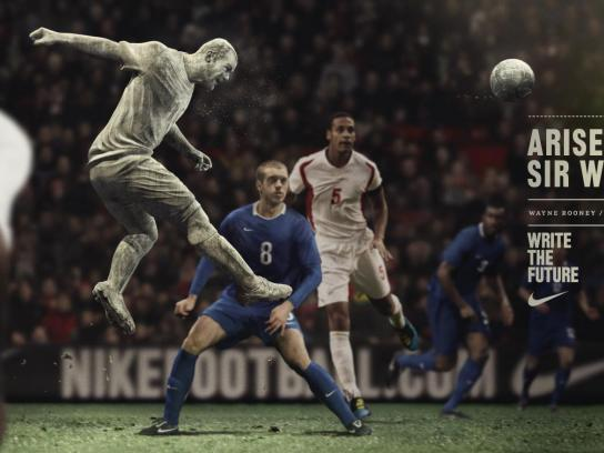 Nike Outdoor Ad -  Write the Future, Rooney