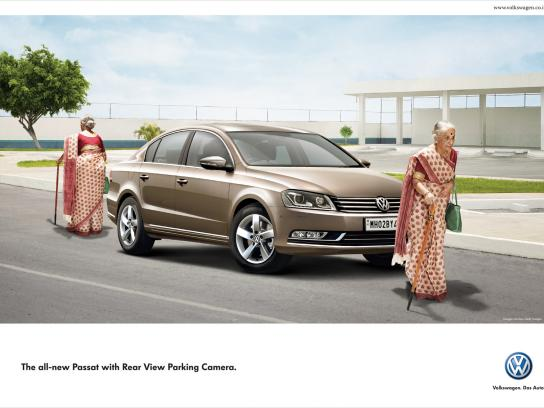 Volkswagen Print Ad -  Double, Old lady
